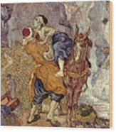 Van Gogh: Samaritan, 1890 Wood Print