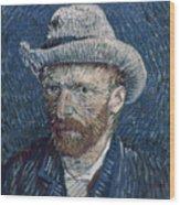 Van Gogh: Self-portrait Wood Print