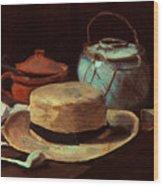 Van Gogh: Still Life, 1885 Wood Print