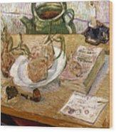 Van Gogh: Still Life, 1889 Wood Print