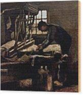 Van Gogh: Weaver, 1884 Wood Print