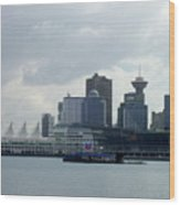 Vancouver Harbour Wood Print