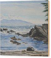Vancouver Island Wood Print