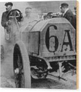 Vanderbilt Cup Race Wood Print