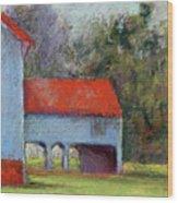 Vanderbilt Park Wood Print