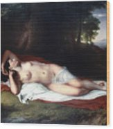 Vanderlyn: Ariadne Asleep Wood Print