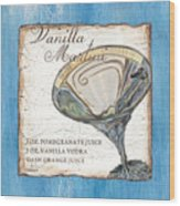 Vanilla Martini Wood Print
