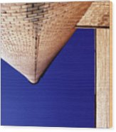 Vanishing Smokestack Wood Print