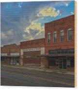 #vanishingtexas Street Scene - Rosebud Texas Wood Print