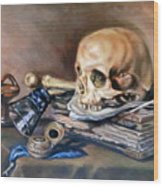 Vanitas After Pieter Claesz Wood Print