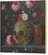 Vanitasstilleven Wood Print