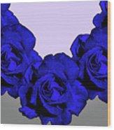 Varas Rose 30 Wood Print