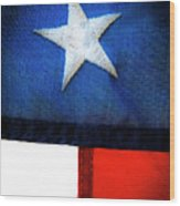 Variations On Old Glory No.7 Wood Print