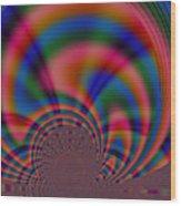 Variegation Wood Print