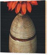 Vase II Wood Print
