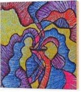 Vase Of Air Wood Print