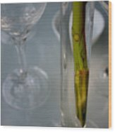 Vase Of Centre Pompidou Wood Print