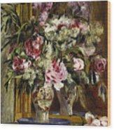 Vase Of Flowers, 1871  Wood Print