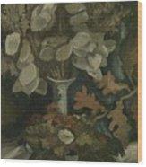 Vase With Honesty Nuenen, Autumn - Winter 1884 Vincent Van Gogh 1853  1890 Wood Print