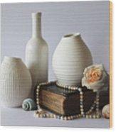 Vases Wood Print