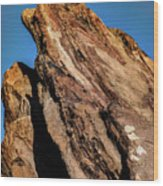 Vasquez Rocks Wood Print