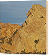 Vasquez Rocks State Park, Sunset Wood Print
