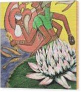 Vasudhara Wood Print