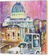 Vatican Authentic Wood Print