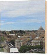 Vatican General View Wood Print