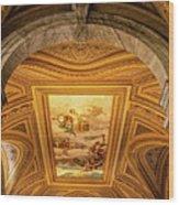 Vatican Museum Painted Ceiling Wood Print