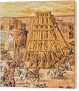 Vatican Obelisk Wood Print