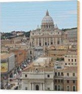 Vatican Rome Wood Print