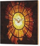 Vatican Window Wood Print
