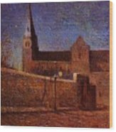 Vaugirard Church 1879 Wood Print