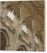 Vaulted Ceiling Wood Print