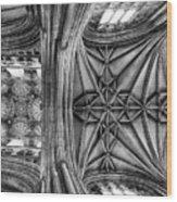 Vaulted  Wood Print
