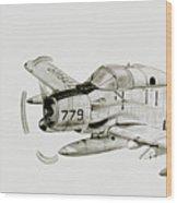 Vaw-13 50 Years Of Ecm Wood Print