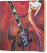 Ve La Musica Wood Print
