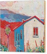 Vecchio Casa Wood Print