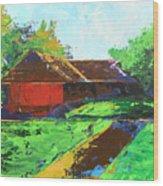 Veedu Wood Print