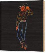 Vegas Vick Wood Print
