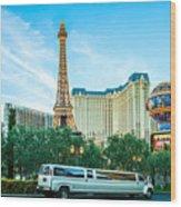 Vegas Vip Wood Print