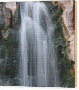Vegas Waterfall Wood Print