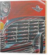 Vehicle- Grill Wood Print