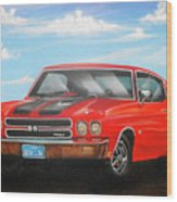 Vehicle- Nova Wood Print