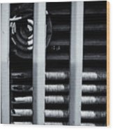 Vehicle Radiator Abstract II Wood Print
