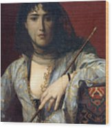 Veiled Circassian Lady Wood Print