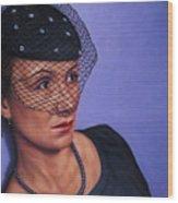 Veiled Wood Print