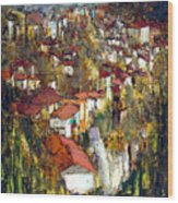 Veliko Tarnovo - Panorama Wood Print