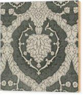 Velvet Hangings, 16th Century Wood Print